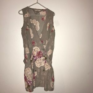 Fossil floral gorgeous dress size small